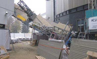 Bergen einer Arbeitsmaschine